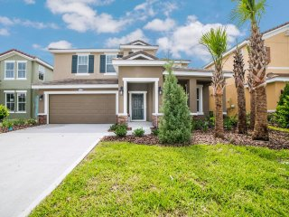 Brand New 5BR 4.5 bath Resort home w/ private pool and gameroom from $158nt