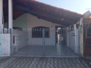 Casa na Vila Mirim,Praia Grande C/Churrasqueira, Temporada,Natal e Ano Novo