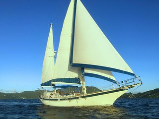 Sailing Ketch Sea Level