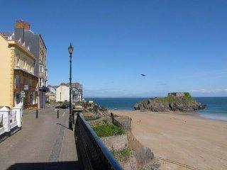 Flat 1, Gunfort Mansions, a few metres from beach access.