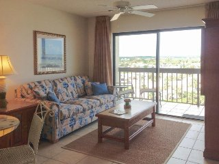Beachfront condo w/ a shared pool, private balcony, sauna, shuffleboard, & more!