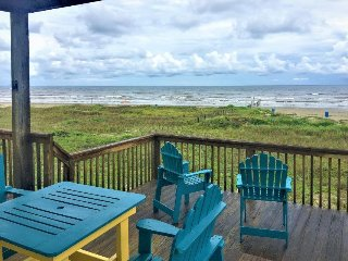 Waterfront and dog-friendly, first row of homes w/ direct beach access!