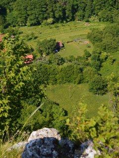 View Na Okić from Popovdolska pećina peak