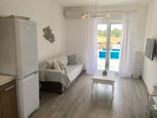 ATHOS BLUE NIKITI D1 (2 separate bedroom apartment with pool)