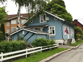 A charming house, idyllically located by the lake Mjøsa