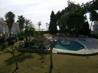 Appartement 1º ligne de mer avec piscine comunautaire