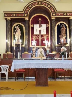 Inside our local church