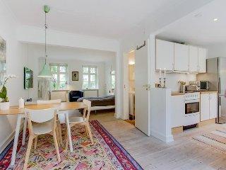 Wonderful Copenhagen apartment with private garden
