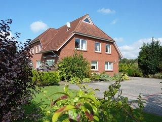 Helle und freundl. Ferienwohnung in Hesesl, Ostfriesland
