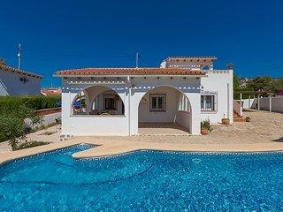 Villa Acaepa en Benissa,Alicante para 6 huespedes