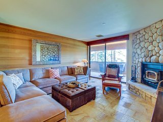 Charming condo near the slopes w/shared hot tub and ski-in/ski-out access!