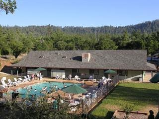 Our on-site pool is a fun activity after a day at Yosemite National Park