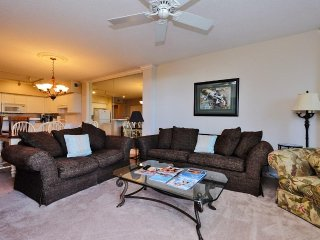Paget 203, 3BD/3Bth Condo at Paget with partial ocean views.