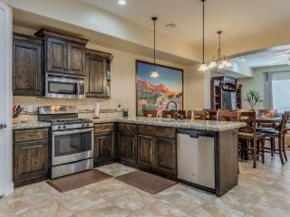 Desert Canyon Paradise! Stunning 4 Bedroom St. George, Utah Vacation Home!  Slee