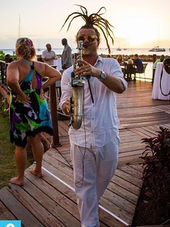 Saxophone Sunset Serenade by Owner
