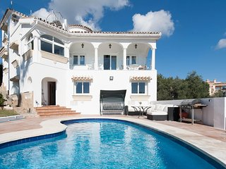 Villa Romano Panoramic Sea and Golf views in the heart of Elviria, Marbella