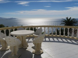 Villa 'La Galera' Los Pinos, fantastic sea views, WiFi, A/C, SAT-TV
