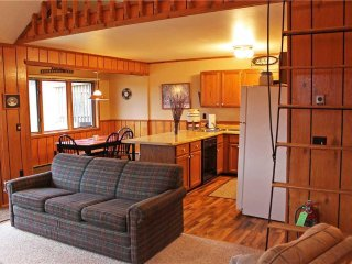 Located at Base of Powderhorn Mtn in the Western Upper Peninsula, An Updated Trailside Duplex with Shared Outdoor Hot Tub
