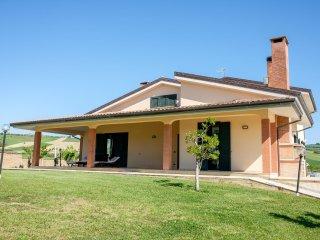 camera 1 in b&b villa in campagna