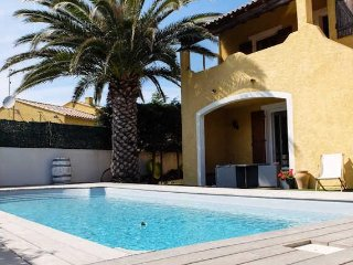 Marseillan apartment near the beach in France with pool