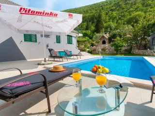 Apartment with pool near Omis