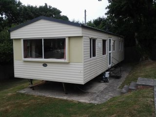 Combe Haven, Hastings, Atlas Mirage Deluxe static caravan 35 x 12
