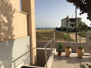 Apartment  on 1 floore in New Cozy House, 150 m.from sandy beach,