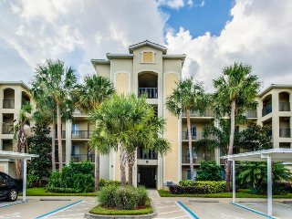 Updated waterfront condo with private patio, shared pool, & on-site golf!