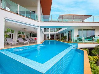 Villa Niyati Large 7 Bed Sea View Pool Residence in Phuket