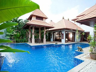 Villa Fantasea 4 Bed Pool Rental with Resort Facilities in Kamala Phuket