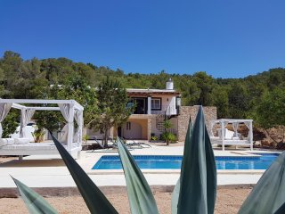 Villa Vrai Ibiza: Newly renovated with sea view