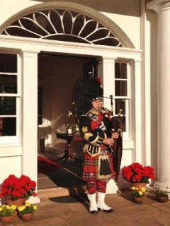Hire our Pipe Major for your special occasion