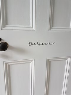 Entrance to the Du Maurier Suite from the first floor landing