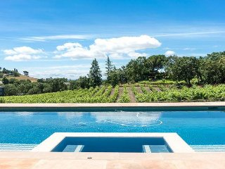 3BR w/ Game Room, Pool, Hot Tub & Vineyard Views – Minutes to Sonoma & Napa