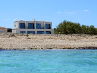 BEACH FRONT VILLA WITH POOL IN SON SERRA