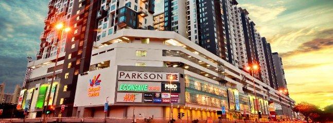 Frente de propiedad-Setapak centro comercial Central
