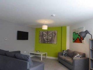 Open Plan living area showing 43' smart TV