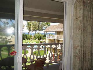 View from inside looking out.