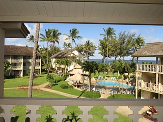 Kauai Kapaa #343 ocean view Vacation Rental condo by owner - Pool and Ocean view