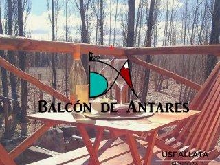 Cabaña Balcón de Antares .Hospedaje ideal para escapada romántica con Jacuzzi
