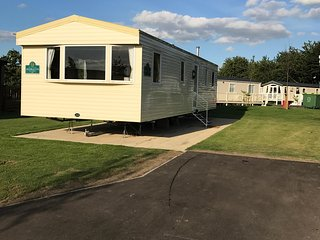 8 berth caravan rental at Tattershall Lakes Country Park