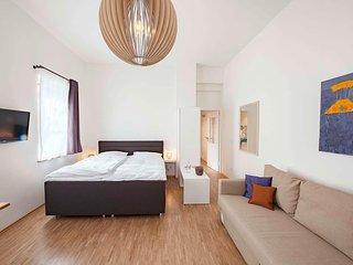 modernes Apartment in ruhigem Innenhof und in direkter Nähe zu Kochschule