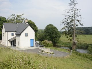 The house on the bank of the River Teifi