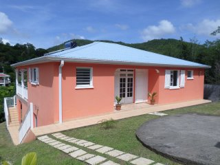 House with 3 rooms in Le DIAMANT Martinique, with enclosed garden and WiFi