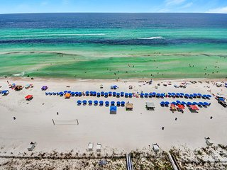 Gulf FRONT for 8! Oct 19 to 23 $795! Buy3Get1FREE! Grandview East 1204-BeachSVC