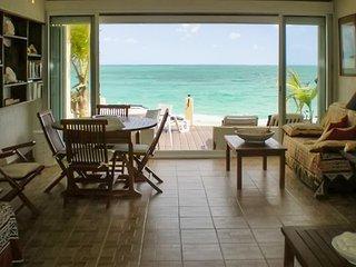 Luxury flat w/ terrace on the beach