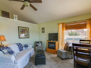 Cozy dog-friendly, oceanview duplex puts you moments away from the beach!