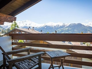 Confortable appartement, belle vue montagne