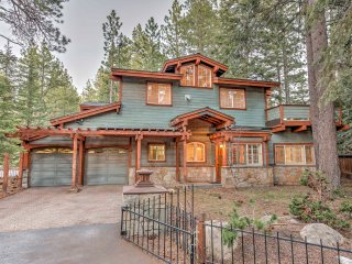 Spacious Tahoe City Home w/ Lake Views and Sauna!