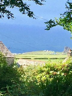 View to Bossiney from the garden